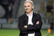 Ligue 2, 34ème journée  : Francis De Taddeo souriant