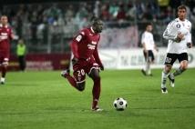 Ligue 2, 31ème journée  : Victor Mendy en pleine course