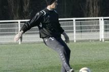 Séance d'entraînement reprise  : Romain Ruffier