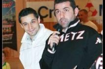 FC Metz Walygator Tour 2010 Etape de Kehlen  : Mario MUTSCH joueur pro du FC Metz présenté par Sebastien MUET