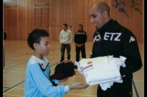 FC Metz Walygator Tour 2010 Etape de Kehlen  : Avec Youns DIANI recruteur du club