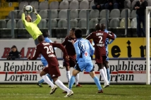 Metz - Tours, 27ème journée de Ligue 2  : Joris Delle