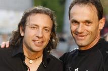 Metz - Nîmes, 37ème journée de Ligue 2  : Christophe Marichez et Philippe Candeloro