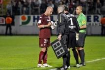 Metz - Nîmes, 37ème journée de Ligue 2  : Ludovic Guerriero et Christophe Marichez