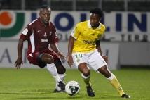 Metz - Nantes, 8e journée de Ligue 2  : Bruce Abdoulaye veille derrière Serge Gakpe