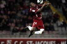 Metz - Nantes, 8e journée de Ligue 2  : Adama Tamboura se montre déterminé sur cette tête