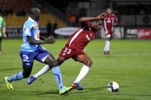 Metz - Le Havre, 11e journée de Ligue 2  : Alhassane Keita vivait face au Havre sa première titularisation en Ligue 2.