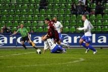 FC Metz - Amiens SC, 15e journée de Ligue 2  : Yohan Betsch a effectué une belle chevauchée à l\'approche de la surface amiénoise.
