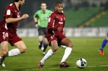 FC Metz - Amiens SC, 15e journée de Ligue 2  : Mathieu Duhamel et Mahamane Traore ont l\'habitude de se trouver sur le terrain.