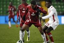 Metz - Sedan, 21e journée de Ligue 2  : Alhassane Keita est rentré en jeu au cours de la partie.