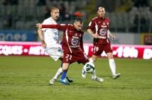 Metz - Troyes  : Thierry Steimetz s\'est démené et a obtenu le penalty de l\'égalisation.