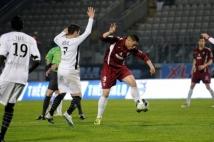 Metz-Angers, 34° journée de Ligue 2  : Nouvelle frappe d\'Andy Delort.
