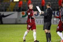 Metz-Tours, 38° journée de Ligue 2  : La sortie de Gautier Bernardelli après son premier match en Ligue 2, à tout juste 19 ans