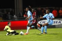 Metz-Tours, 38° journée de Ligue 2  : Sadio Mane but sur Benjamin Leroy