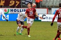 Metz - Clermont, 25° journée  : Jérémy Choplin contrôle de la poitrine