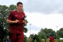 Reprise de l'entraînement   : Gaetan Bussmann