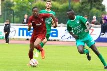 Amnéville-Metz, match amical   : Diafra Sakho