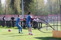 L'entraînement du 17 avril en photos